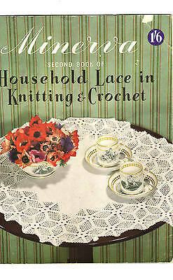 Vintage Household Lace In Knitting & Crochet/  Minerva Second Book