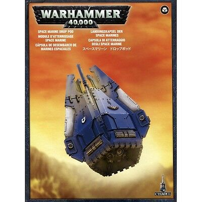 Boxed & Sealed Warhammer 40k Space Marine Drop Pod