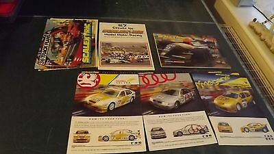 Scalextric Catalogue Edition 38 27 Circuits 36 Track Plans 3 X A4 Adverts