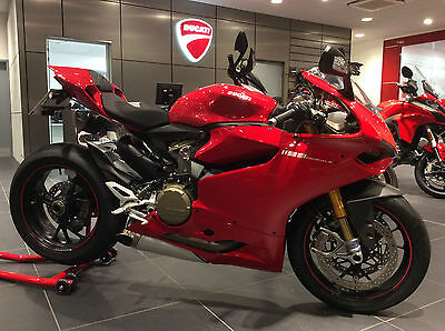 2012 Ducati 1199 S Panigale Abs Red