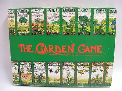 THE GARDEN GAME AWARD WINNING VINTAGE BOARD GAME - () Saint Francis Hospice
