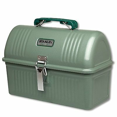STANLEY Classic Lunch Box 5,2 L Hammerschlag-Lack grün - Stahl - Outdoor Brotbox
