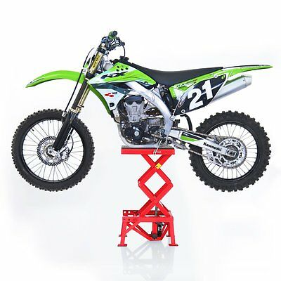 Bequille d atelier hydraulique ConStands Moto Cross Lift XL Trial Enduro rg leve