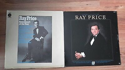 2 Ray Price Lps Sweetheart Of The Year And There's Always Me Excellent Condition