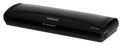 WHSmith Black A3 Laminator Laminates A3 & A4 5 Minute Warm Up Jam Release Button