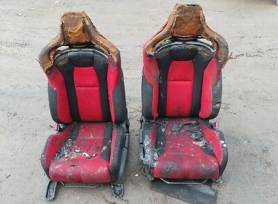 Genuine Honda Civic Type-R Fk2 2016 Fire Damaged Bucket Seats Fk2 Type-R Spares