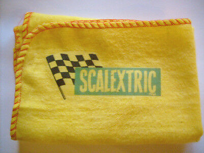 Scalextric Slot Car Racing: Brand New Yellow Cleaning Duster With Logo Decal.