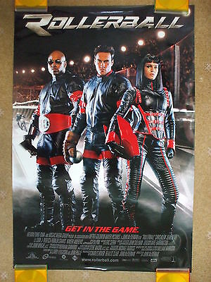ROLLERBALL (2002) Original US One Sheet Movie Poster LL Cool J Chris Klein
