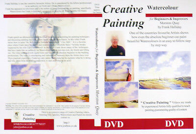Watercolour Painting DVD How to paint Morston Quay Norfolk Frank Halliday 2004