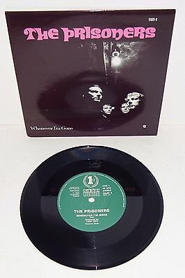 "THE PRISONERS WHENEVER I'M GONE 1986 COUNTDOWN/STIFF 7"" with P/S"