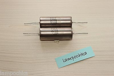 (LOT 2 PCS) PIO AUDIO Capacitor K40Y-9 К40У-9 0.33uF 330nF 630V +/-10% USSR