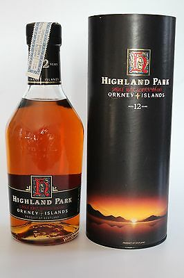 Whisky Highland Park 12 Years Old - 43%  (years 80's)