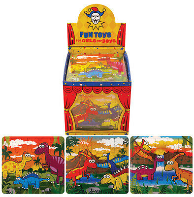 108 dinosaur puzzle jigsaw: party fillers / teaching resource (3 types 36 each)