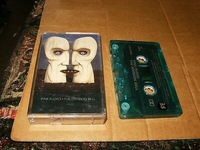 Pink Floyd The Division Bell Cassette,Used,Plays Fine,Canada.