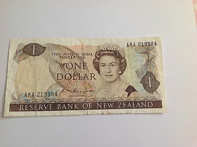 ONE DOLLAR reserve bank of new zealand