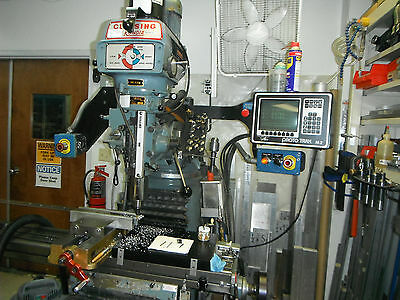 Clausing Kondia FV-1 Vertical CNC Mill with Prototrak M2 Controller