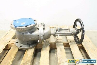 New Walworth 5202F 6 In 150 Steel Flanged Wedge Gate Valve D551778