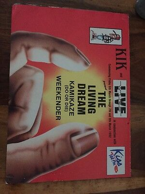 Rave Flyers The Living Dream 1992