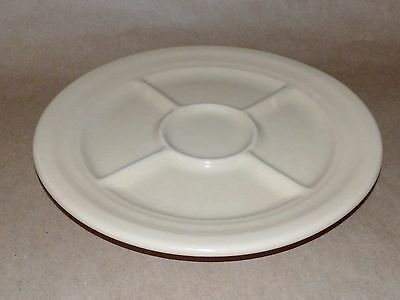 Shenango Incaware Restaurant Inca Ware 5 Section Relish Grill Plate