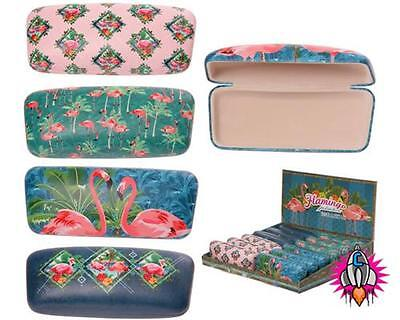Retro Style Flamingo Hard Glasses Case Sunglasses Cover 4 Designs
