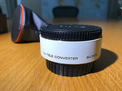 Sony x 1.4 Teleconverter SAL-14TC IMMACULATE CONDITION
