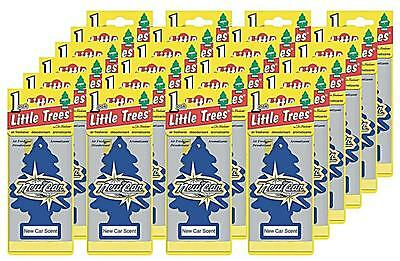 Little Trees New Car Scent Tree Air Freshener Home/Car Scent 6-12-24-48-96-144pc