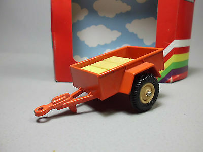 Mini Trailer orange Britains Traktor Anhänger 1:32 1980 OVP
