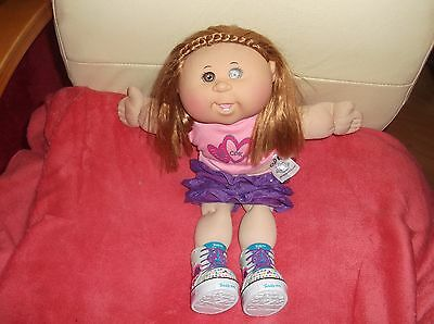 Cabbage Patch Kids Doll Cpk Jakks China 2014 Skechers Boots Twinkle Toes