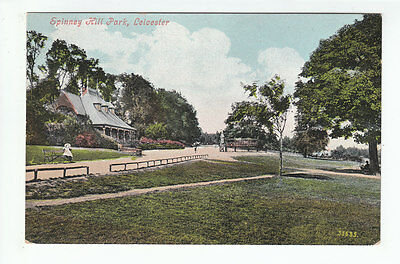 Spinney Hill Park Leicester 1901 Valentines 35635 Old Postcard Postally Unused