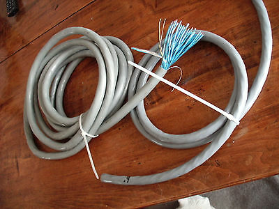 17 & 6 Feet X 27 pair  Multi Conductor Shielded Microphone Cable  AUDIO SNAKE