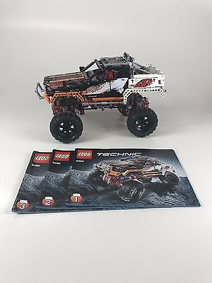 Lego Technic 4x4 Crawler 9398 100 Complete With Instructions