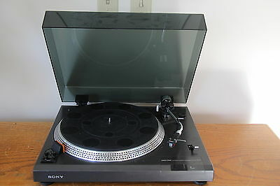 Sony Ps-11 Direct Drive Turntable -- New Lid -- Serviced -- Super Nice --