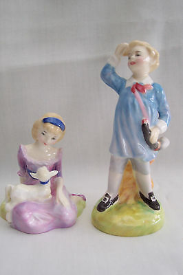 ~~~Two Lovely Royal Doulton Figures--Nursery Rhyme Series--1948/49~~~
