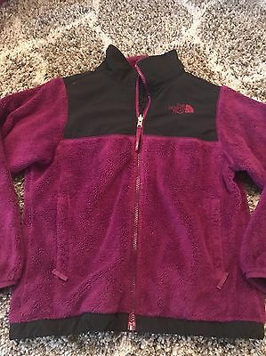 Girls North Face Oso Fleece Jacket M 10/12