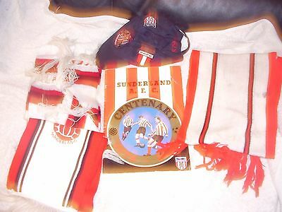 sunderland football scarf