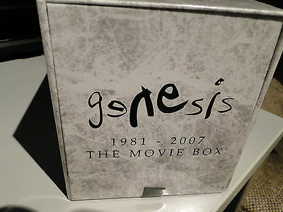 GENESIS The Movie Box 1981-2007 best/greatest live concerts 5 x DVD