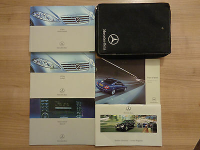 Mercedes Benz A Class Owners Handbook/Manual and Wallet 04-08