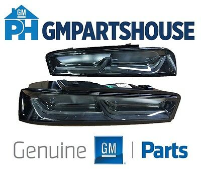 2016-2018 Camaro Genuine GM Darkened Tail Lights Lamps 84136777