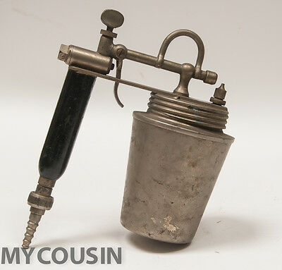 1915,OLD Machine Age, Airbrush Spray Paint Gun, Eureka Pneumatic Spray Co., N.R.