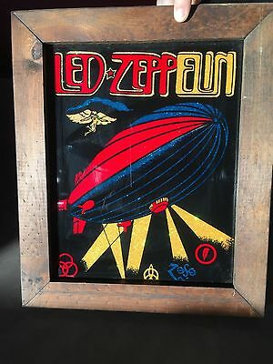 1970's LED ZEPPELIN CARNIVAL MIRROR PRIZE PICTURE PERFECT CONDITION