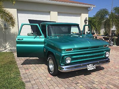 1964 Chevrolet C-10 Chrome CLASSIC STREET ROD CHEVY PICKUP WITH BLOWER MOTOR! OFF FRAME RESTORATION