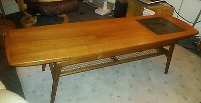 60/70s MK MOGENS KOLD HOVMAND OLSEN SURFBOARD COFFEE TABLE  Danish Modern