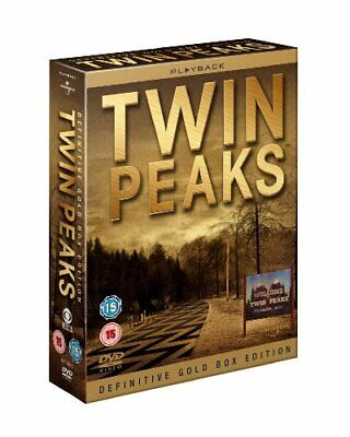 Twin Peaks: Definitive Gold Box Edition (UK Version) [DVD] - DVD  58VG The Cheap