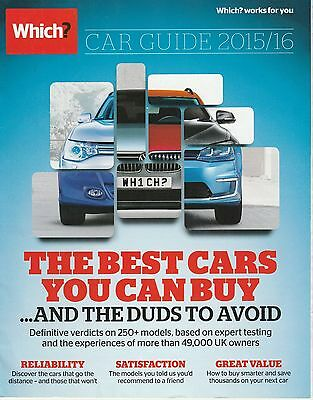 Which? Car Guide 2015/16