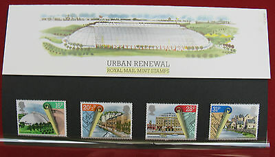 UK: Urban Renewal. 4 Stamp Pack Number 152. Issued: 10.4.1984
