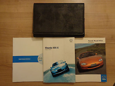 Mazda MX5 Owners Handbook/Manual and Pack 02-04