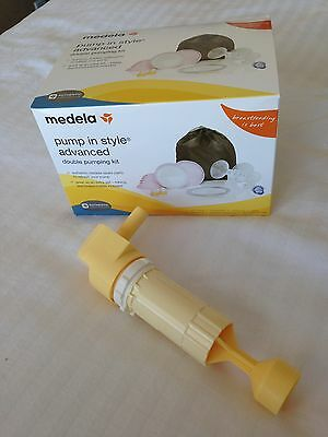 Medela pump in style advanced double pumping kit w/ piston