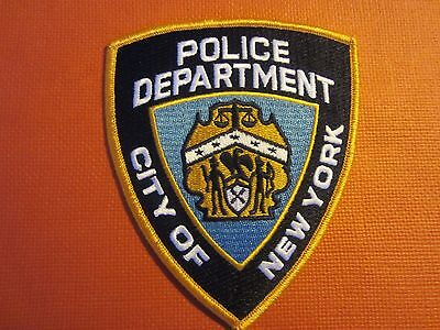 Collectible New York Police Patch New York New President Trump Birthplace