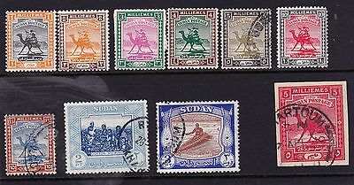 Collection of Sudan stamps: Mint & Used