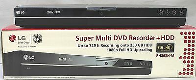 Lg Rh398H-M Multi Dvd Recorder + Hdd…250 Gb...new In Box..!!
